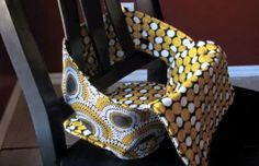 How to Sew a Portable High Chair | AllFreeSewing.com
