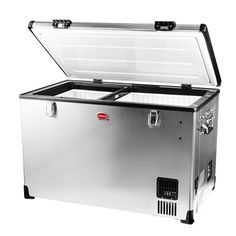 BD/C-100Stainless Steel Dual Fridge Freezer Single Door | Snomaster - Freezers, fridges, wine chillers, ice makers