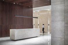Image result for faux concrete reception desk singapore