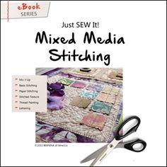 Just SEW It - eBook: Mixed Media Stitching