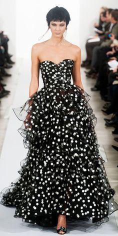 Runway Looks We Love: Best Looks Of New York Fashion Week Fall/Winter 2014 - Oscar de la Renta from #InStyle
