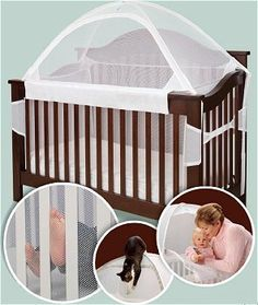 Tots In Mind Crib Tent for Convertible Cribs
