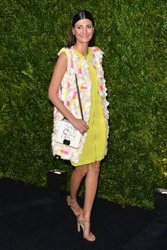 Giovanna Battaglia attends the Chanel Tribeca Film Festival Artist Dinner during the 2014 Tribeca Film Festival at Balthazar on April 22, 2014 in New York City.