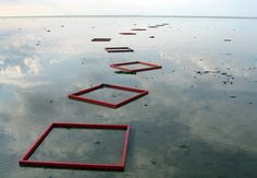 Land art by Edda Ackermann
