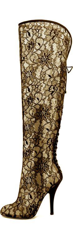 Sebastian...#boot #heel Lace #black/gold