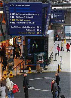 Waverley Station Edinburgh