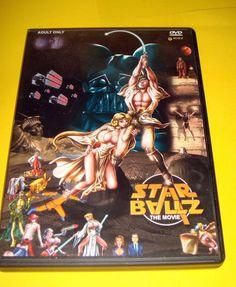 Pelicula en Dvd STAR BALLZ the movie erotica-animada descatalogada-buen estado!!