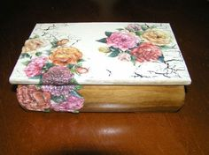 Decoupage 3D - jewellery box