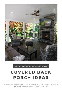 If you want a back porch designed as uniquely as you are, we're your team! See our designs for yourself in our latest blog…