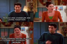 """When Monica and Ross revealed each other's secrets to their parents. 26 """"Friends"""" Quotes Guaranteed To Make You Laugh Every Time Friends Episodes, Friends Moments, Friends Series, Friends Tv Show, Friends Forever, Friends Cast, Tv Show Quotes, Movie Quotes, Best Tv Shows"""