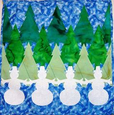Vote Now and Give-Away: Quilts with Snowy Friends / Quilting Gallery where Annmarie Tegan made my block from Quiltmaker's 100 Blocks Vol. 1. Nicely done!