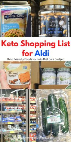 Low Carb shopping list for ALDI. #ketoonabudget Ketogenic Diet Plan, Ketogenic Diet For Beginners, Keto Diet For Beginners, Keto Meal Plan, Diet Meal Plans, Aldi Meal Plan, Ketosis Diet, Atkins Diet, Keto On A Budget