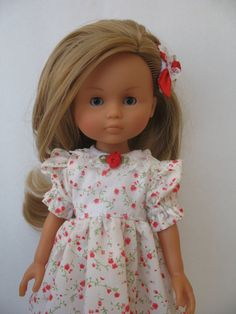 Corolle Les Cheries Doll Dress with Hair Snap