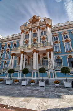 Catherine Palace, Tsarskoye Selo, St. Petersburg