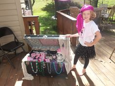 Birthday girls and friends dressed as pirates...Pink Pirate Party