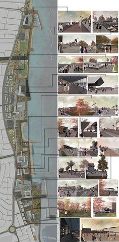 East Architecture Landscape Urban Design Ltd Urban Design Concept, Urban Design Diagram, Landscape Architecture Design, Architecture Drawings, Parque Linear, Architecture Presentation Board, Urban Planning, Urban Landscape, Planer