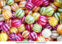 Colorful striped candy background by Ruth Black, via Shutterstock