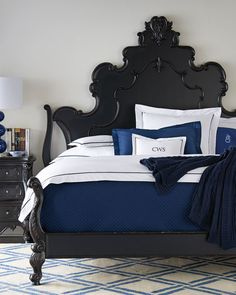 Antique Black Bedroom Furniture Amazing Nicolette Black Bedroom Furniture  Horchow  Home Is Our Oasis Decorating Design