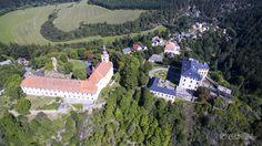 Zámek Rabštejn nad Střelou z dronu - www.skyworker.cz Castles in the Czech Republic