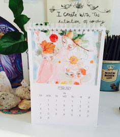 Happy #February everyone!!!!! by susanatavaresart