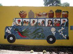 GUATEMALA COMMUNITY MOSAIC PROJECT by mosaic artist Cynthia Fisher - B I G  B A N G  M O S A I C S