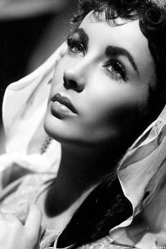 "Elizabeth Taylor - young and beautiful, in two of her most celebrated films: ""A Place in the Sun"" (1951) and ""Ivanhoe"" (1952)"