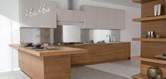Kitchen Wooden Kitchen Design Ideas With Stainless Steel Sink And Cooktop Trendy Kitchen Design Ideas