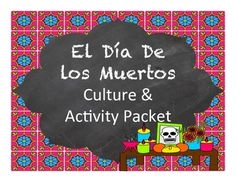 Day of the Dead activities for Spanish class - enough activities for multiple levels of Spanish or stations