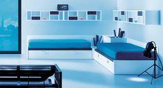Life box 24. Habitación juvenil con tres camas