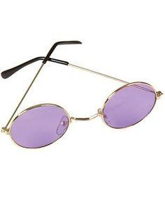 c18ce6c8875 New Purple John Lennon Funky Retro Costume Glasses Rhode Island Novelty
