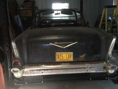 Tri-Five Drop Top: 1957 Chevy Convertible - http://barnfinds.com/tri-five-drop-top-1957-chevy-convertible/