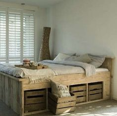 For More... - DIY Bed Frame - 16 You Can Make Yourself - Bob Vila