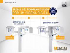 Troque seu panorâmico usado por um Sirona Digital. #Sirona