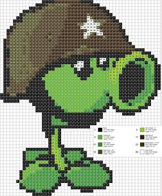 19 Best Plants Vs Zombies Images Beading Patterns Pixel