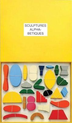 PaulCox sculptures-alphabetiques