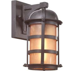 """View the Troy Lighting BF9250 Aspen 1 Light 11"""" CFL Outdoor Wall Sconce at Build.com."""
