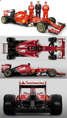 2014 Ferrari - The two best drivers in subpar car. Maybe next year boys.