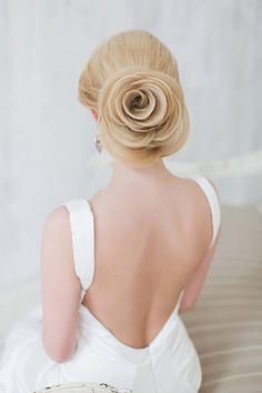 Beautiful Wedding Updo - Belle The Magazine