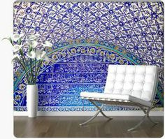 Bayonne, in Aquitaine, France, during the vintage engravi Peel Off Wallpaper, Custom Wall Murals, Aquitaine, Barcelona Chair, Mosaic Wall, Wall Design, Big, Furniture, Vintage