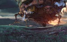 "Studio Ghibli: ""Howl's moving castle"""