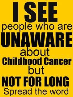 #Are you aware of childhood Cancer? Spread the word! http://wp.me/p27yGn-8T #Repin Thanks