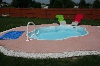 San Juan S Paradise Fibergl Swimming Pool Pioneer Valley Pools And Spas Llc