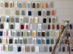 Paint swatches from our partnership with @colorhousepaint.