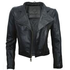 Black leather jacket to go with my black leather pants!