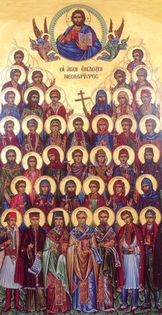 New Martyrs of the Turkish Yoke These event include the atrocities against, among others, the Serbs in AD the Greeks in AD and the Bulgarian AD Religious Icons, Religious Art, Orthodox Christianity, Christ The King, Byzantine Icons, Catholic Saints, Orthodox Icons, Sacred Art, Christian Art