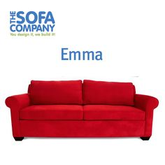 Petite rolled arms and loose back pillows allow you to sink into Emma for the perfect comfort.     #ProductSpotlight #Emma #TheSofaCompany