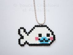 Bijou collier Mamegoma phoque kawaii japonais par DoucesCreations