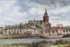 Nijmegen - Huidige waalkade  door Anna Doedijns