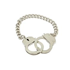 Bee Charming Silver Handcuff Bracelet found on Polyvore