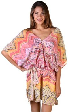 For the warm weather lover, this caftan is a great gift for over a suit, or to wear as a dress or tunic